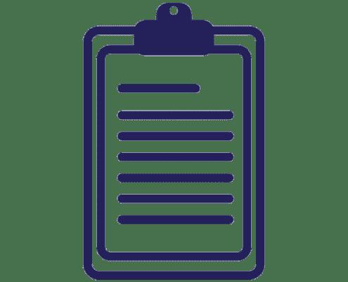 Clip Board - Toner Damp Proofing Ltd - Company Brand Colour